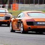 Audi R8 V10 Plus tor Poznań Sportscar Experience