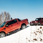 Jeep Wrangler vs Ford Ranger