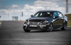 Lexus IS F sport test