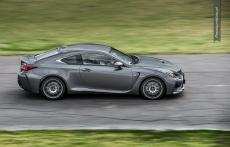 Lexus RC F heli shoot