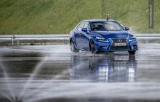 Lexus IS300h drift