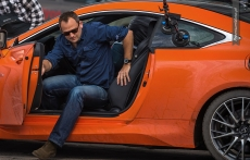 Lexus RC F gymkhana drift Ben Collins Stig