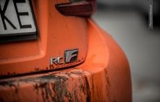Lexus RC F gymkhana drift