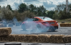 Lexus RC F drift Stig i Gymkhana