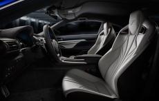 Lexus RC-F wnetrze