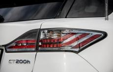 Lexus CT200h F sport detail