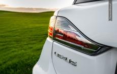 Lexus CT200h F sport white