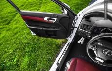 Lexus CT200h F sport white facelifting