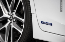 Lexus CT200h F sport wheel
