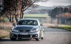 Lexus IS-F 2014 test polska