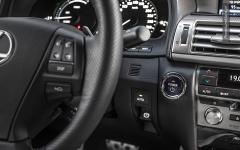 Lexus LS600h F sport stelvio pass