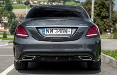 Nowy Mercedes klasy C W205 przod