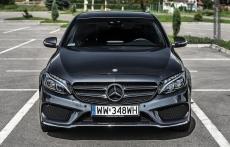 Nowy Mercedes klasy C W205 amg przod