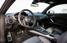 Nowe Audi TT s line wnetrze