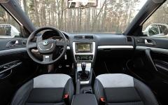 Skoda Octavia RS 2,0 TDI wnetrze