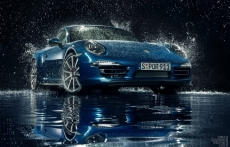 Tomasz Olszowski rain photo