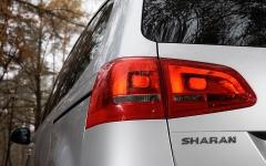 Volkswagen Sharan 2,0 TDI Highline swiatlo tyl