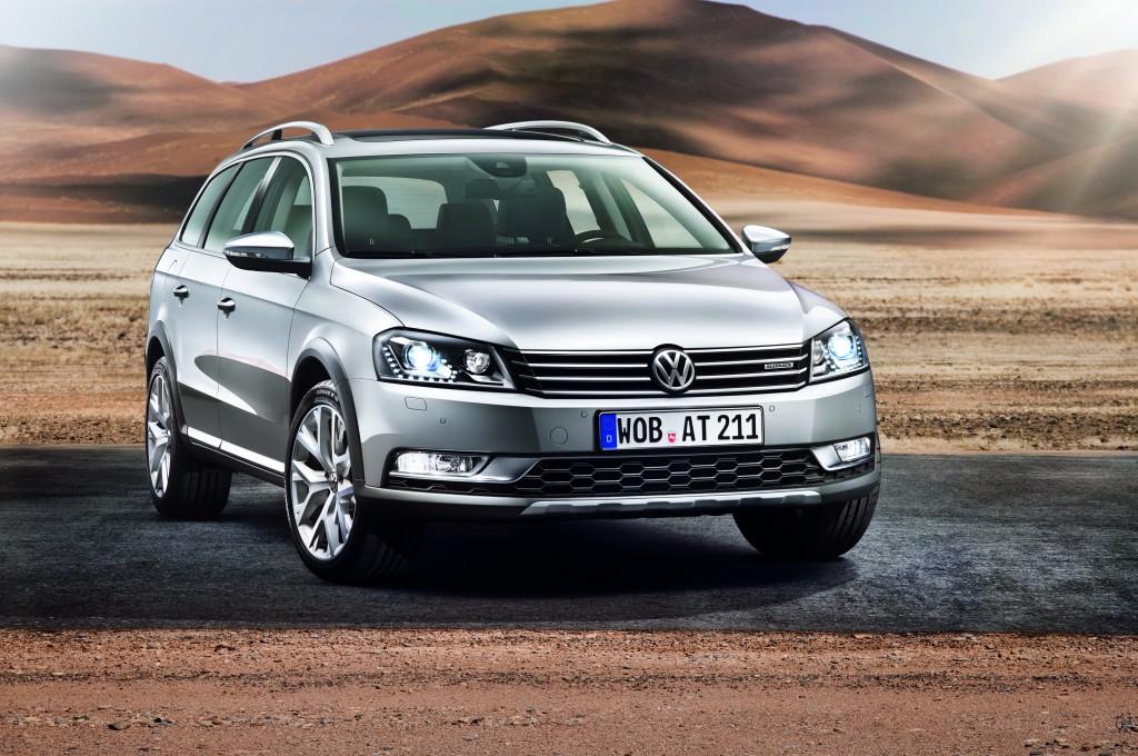 Nowy Volkswagen Passat Alltrack przod