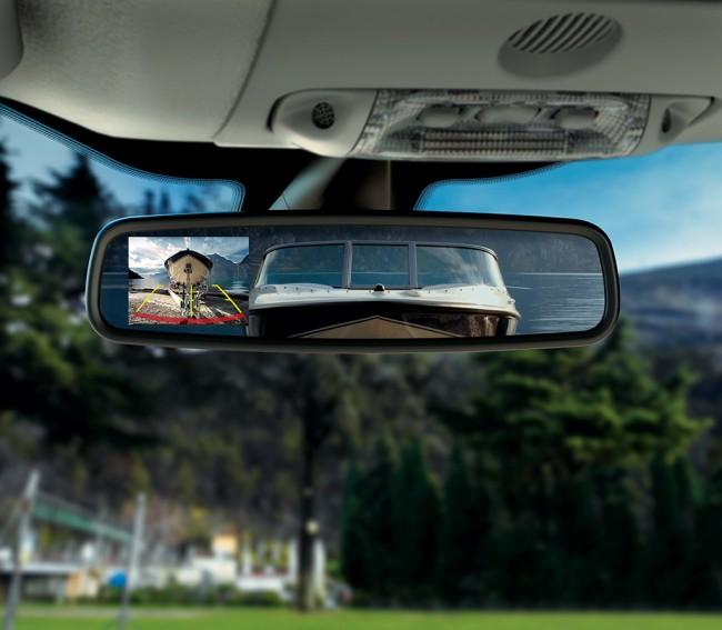 Ford Ranger kamera cofania