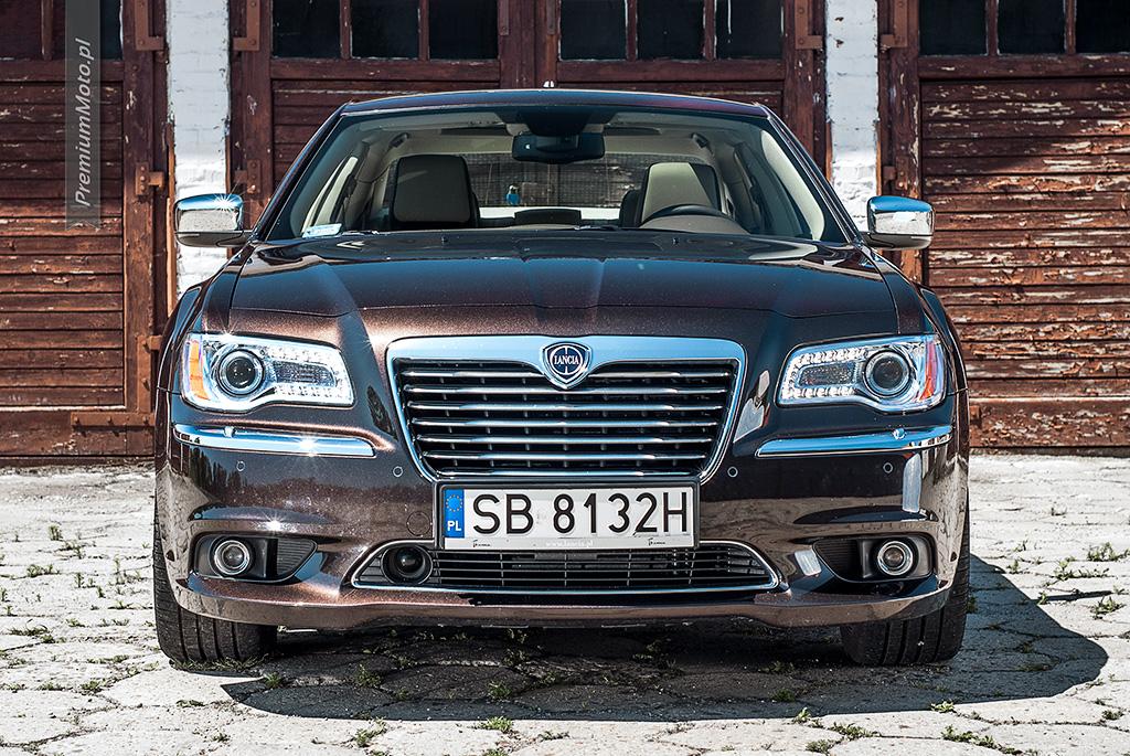 Lancia Thema test