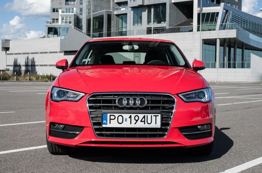 Nowe Audi A3 test