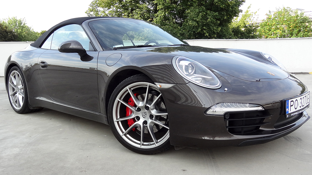 Porsche 911 Carrera S Cabrio test