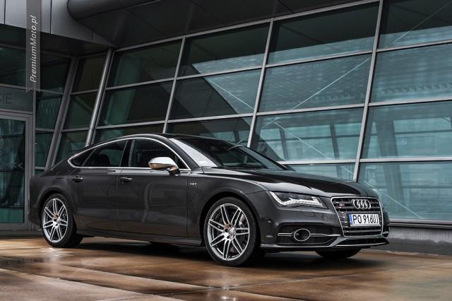 Audi S7 test