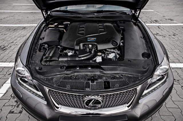 Lexus IS-F test