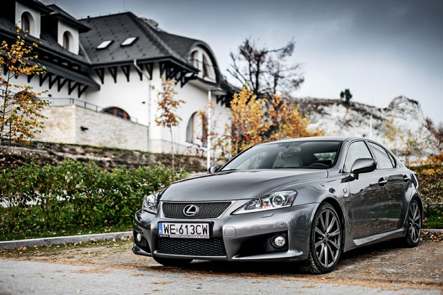 Lexus IS-F test