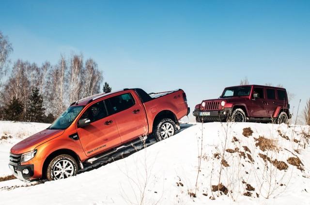 Jeep Wrangler i Ford Ranger