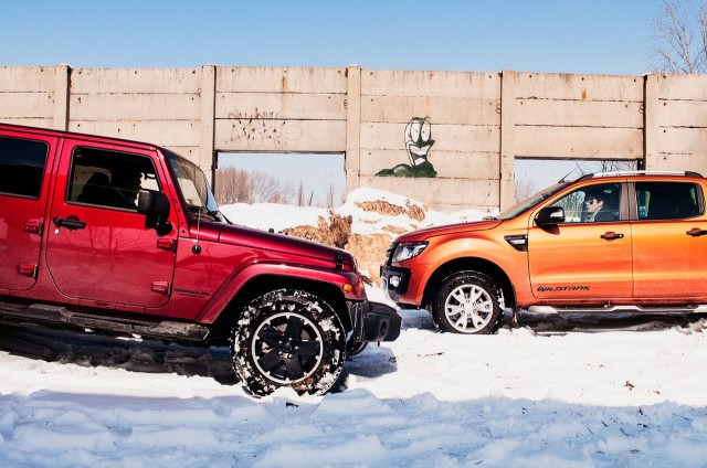 Jeep Wrangler Unlimited vs Ford Ranger Wildtrak
