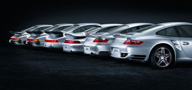 6 generacji 911 Turbo
