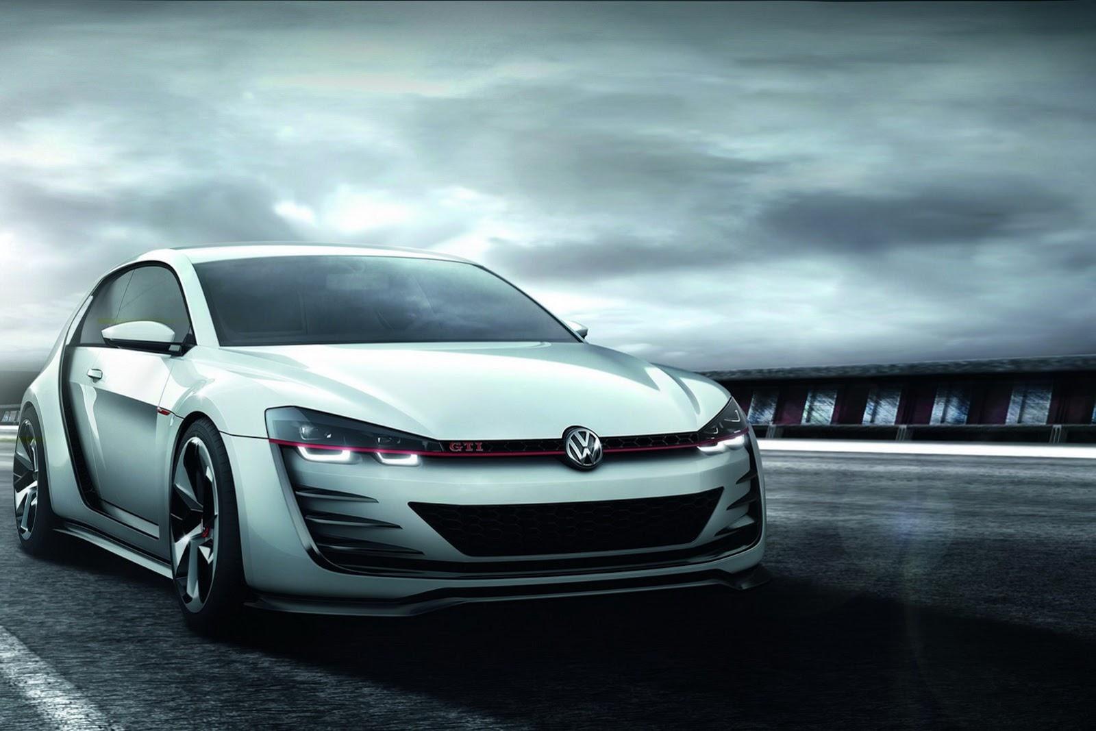 VW Golf Design Vision GTI