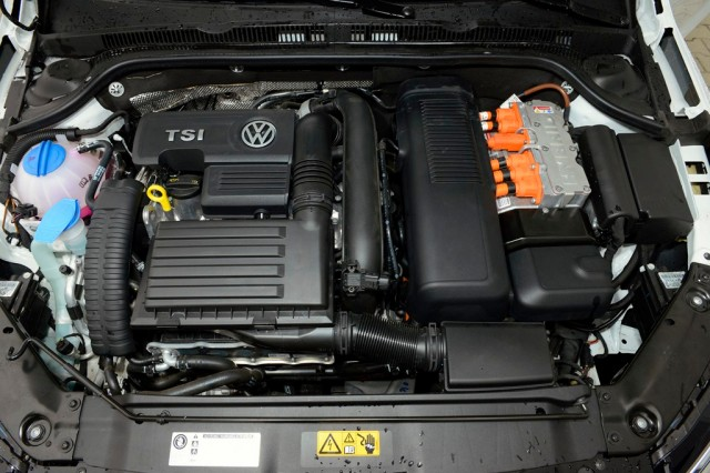 Volkswagen Jetta Hybrid test