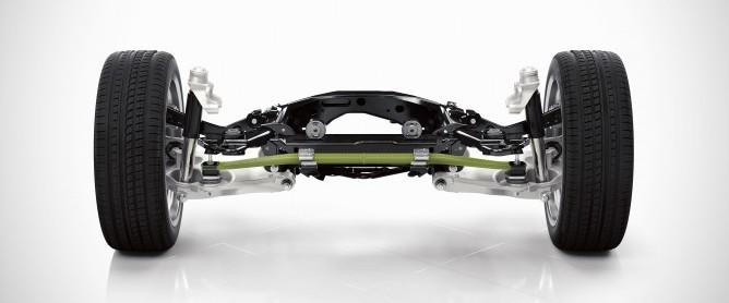 Nowe Volvo XC90 tylne zawieszenie