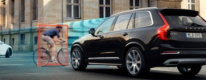 Nowe Volvo XC90 systemy