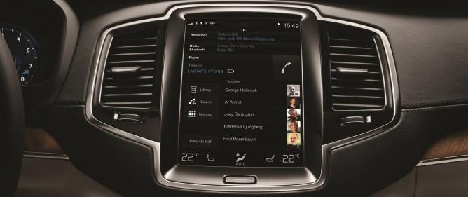 Nowe Volvo XC90 apple android