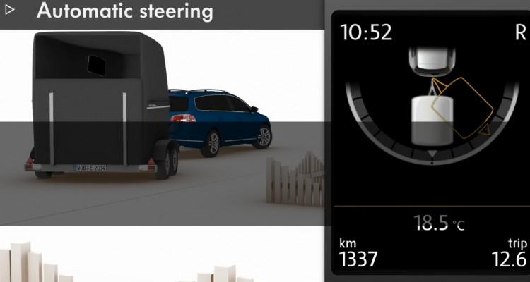 Jak dziala asystent parkowania z przyczepą