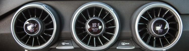 Nowe Audi TT nawiewy