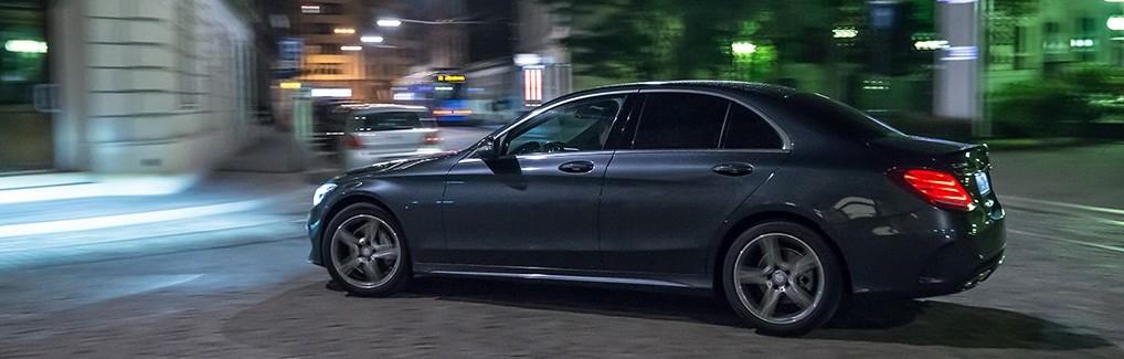 Mercedes klasy C220 AMG test