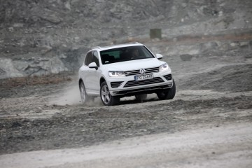 nowy Touareg perfectline v8 test