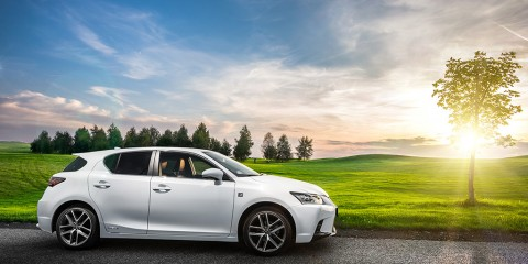 Lexus CT200h F sport test