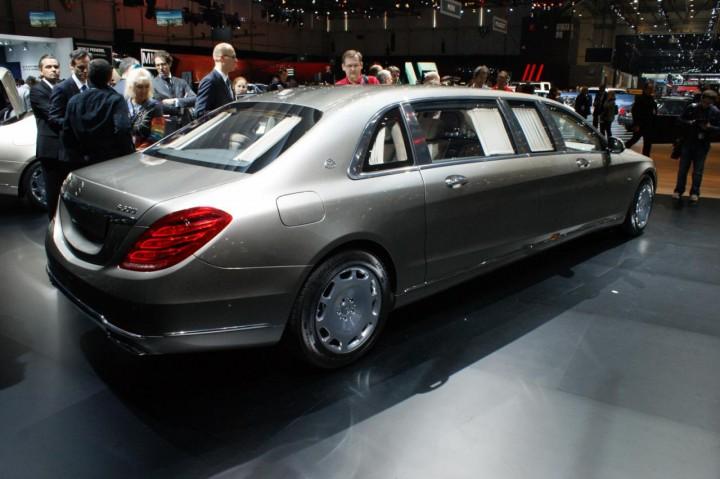 Mercedes Maybach S600 Pullman