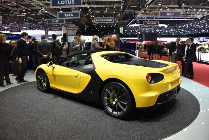 Ferrari Pininfarina Sergio Geneva