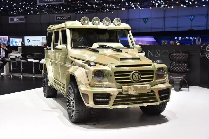 Mansory G-Class Sahara Edition Geneva