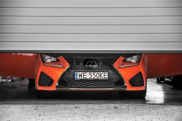 Lexus RC-F Carbon polska