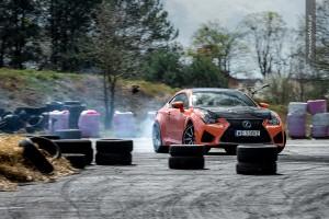 Lexus RC F full drift