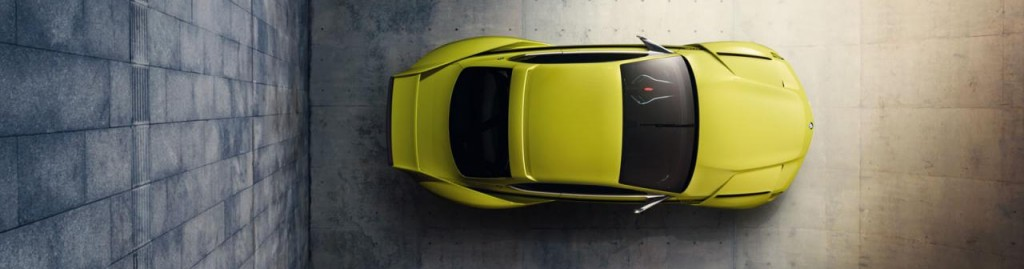 BMW 30 csl hommage birdview