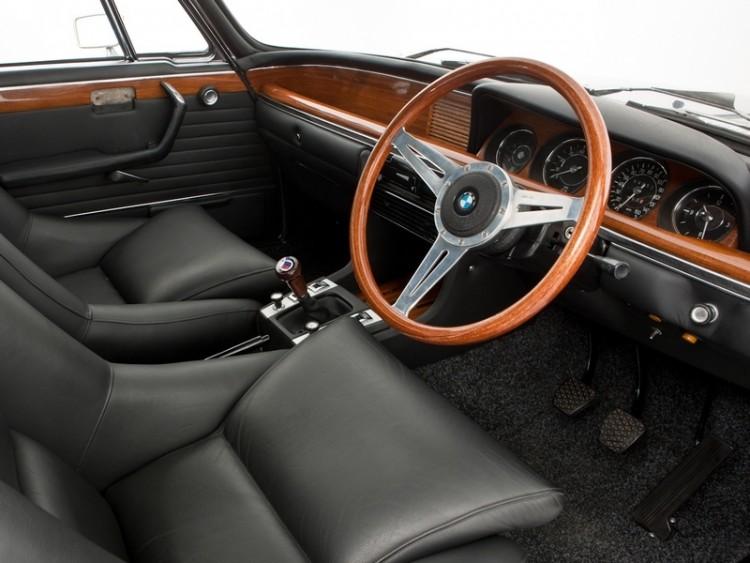 BMW 3,0 CSL wnetrze