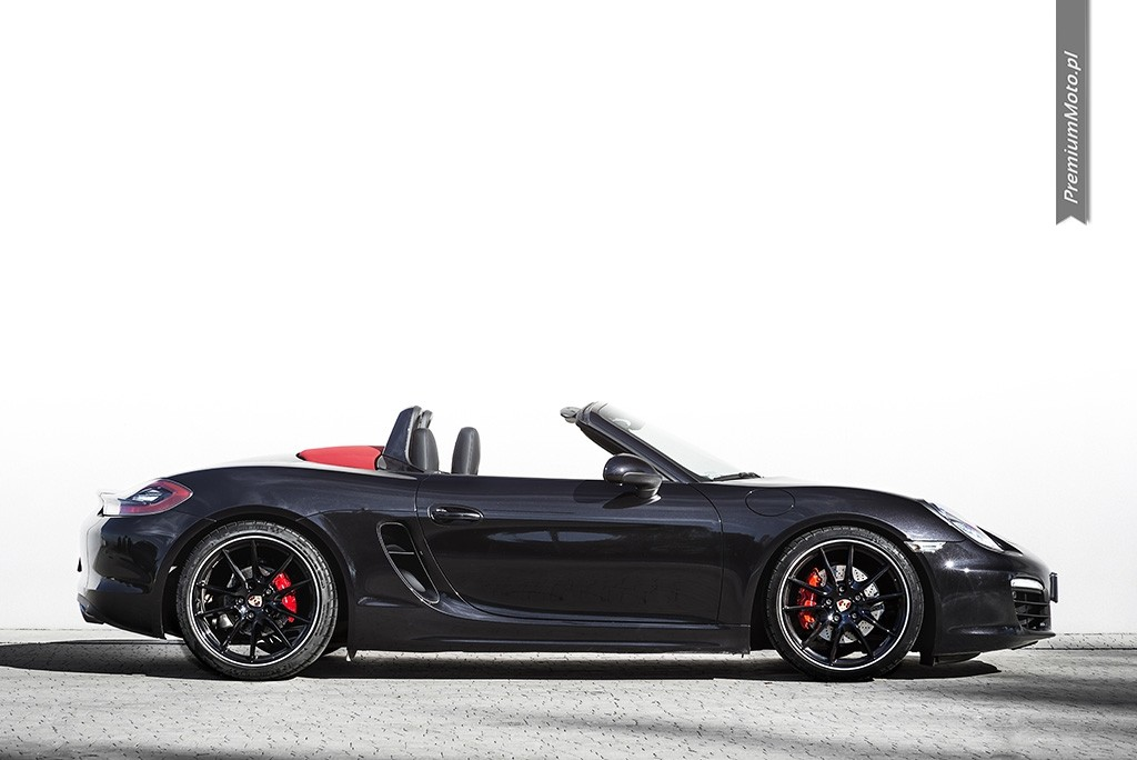 Porsche boxster s 981 profil